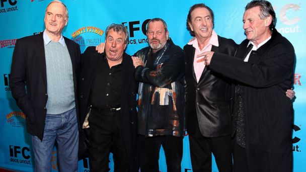 PHOTO: From left, John Cleese, Terry Jones, Terry Gilliam, Eric Idle, and Michael Palin