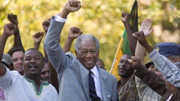 PHOTO: Still of Morgan Freeman in Invictus (2009)