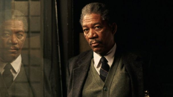 PHOTO: Still of Morgan Freeman in Se7en (1995)