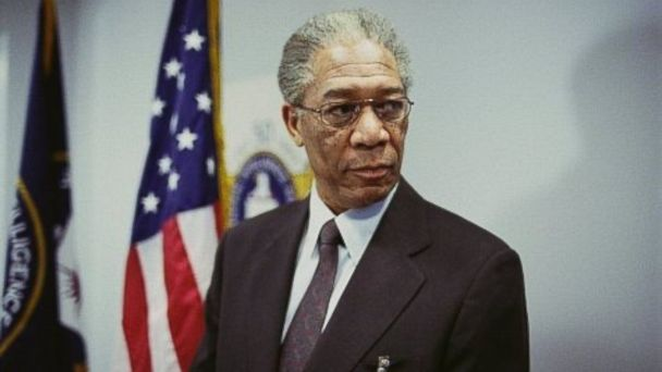 PHOTO: Still of Morgan Freeman in The Sum of All Fears (2002)