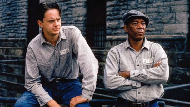 PHOTO: Still of Morgan Freeman and Tim Robbins in The Shawshank Redemption (1994)