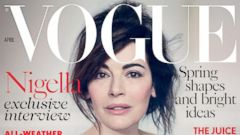 Nigella Lawson Goes Makeup-Free for Vogue
