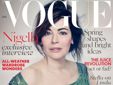 Photos: Nigella Lawson Goes Makeup-Free for Vogue