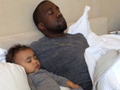 How Kim Kardashian, Kanye West and North Celebrated Father's Day