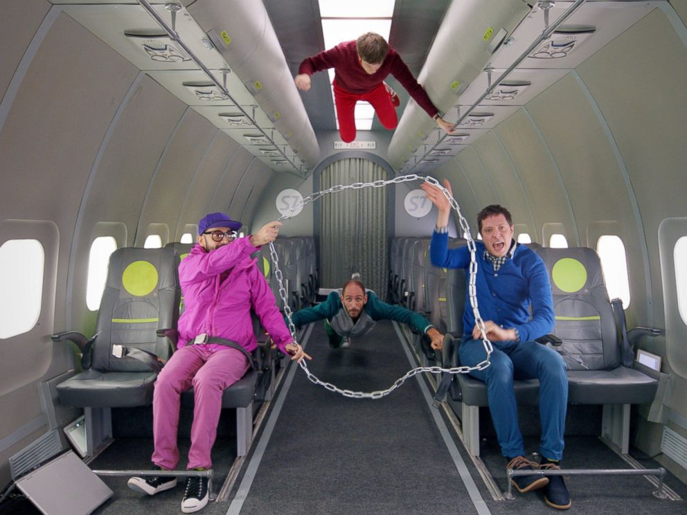 PHOTO:Ok Go filmed the zero-gravity music video for their new single, Upside Down, Inside Out, at Russias Yuri Gagarin Cosmonaut Training Center.