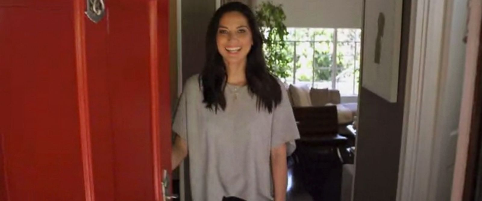 "PHOTO: Olivia Munn in a Vogue Videos feature, ""73 Questions with Oliva Munn."""