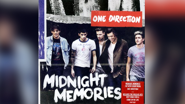 "PHOTO: One Direction's ""Midnight Memories"" album."