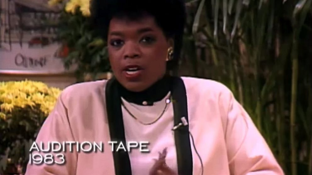 PHOTO: Oprah Winfrey is seen in her audition tape, circa 1983, in this video still.