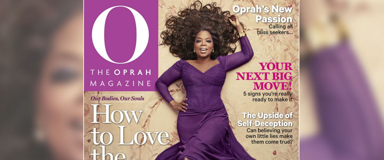 PHOTO: Oprah on O Magazines May 2014 cover.