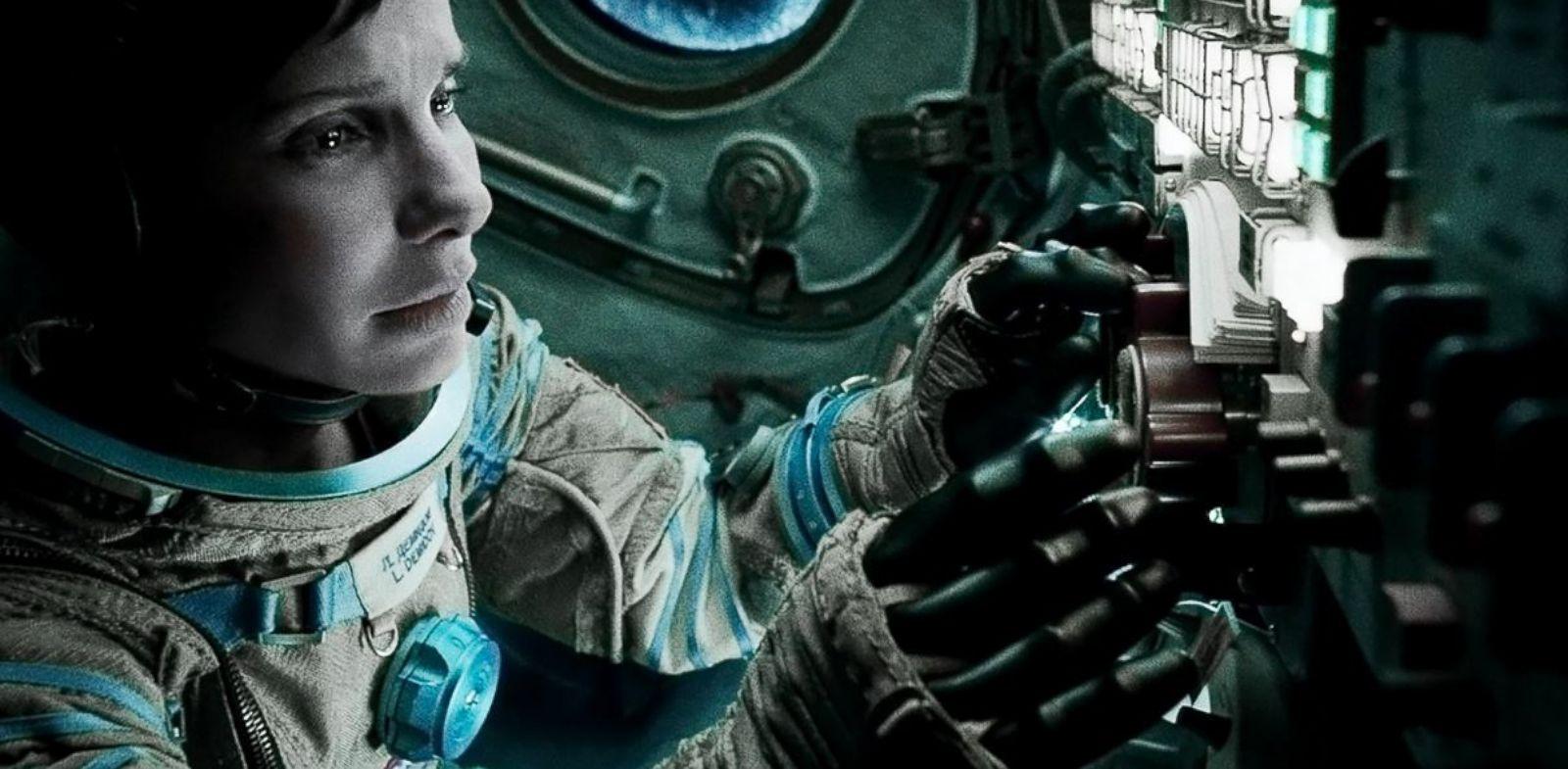 """PHOTO: Sandra Bullock stars in the film """"Gravity."""""""