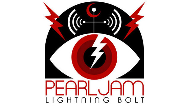 "PHOTO: Pearl Jam's ""Lightning Bolt"""