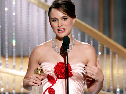natalie portman golden globes 2011. Natalie Portman.