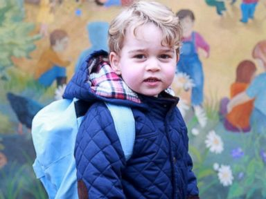 Prince George Attends First Day of Nursery School