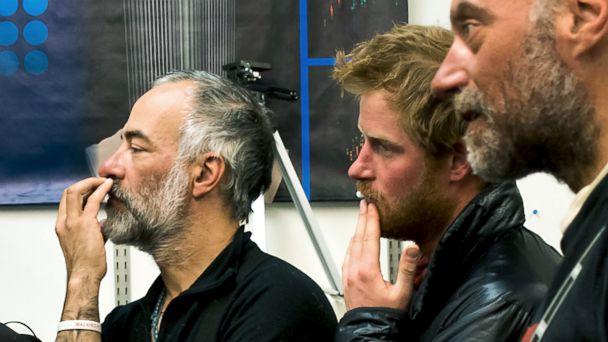 HT prince harry beard jtm 131217 16x9 608 Prince Harry Rocks Rugged New Beard at South Pole