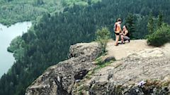 PHOTO: Geoff Parker, of Seattle, Wash., captured a mountaintop proposal while hiking with his wife.