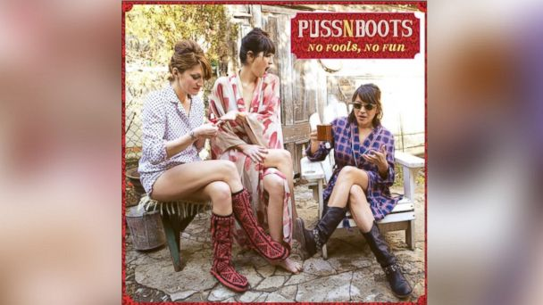 "PHOTO: Puss n Boots ""No Fools, No Fun."""