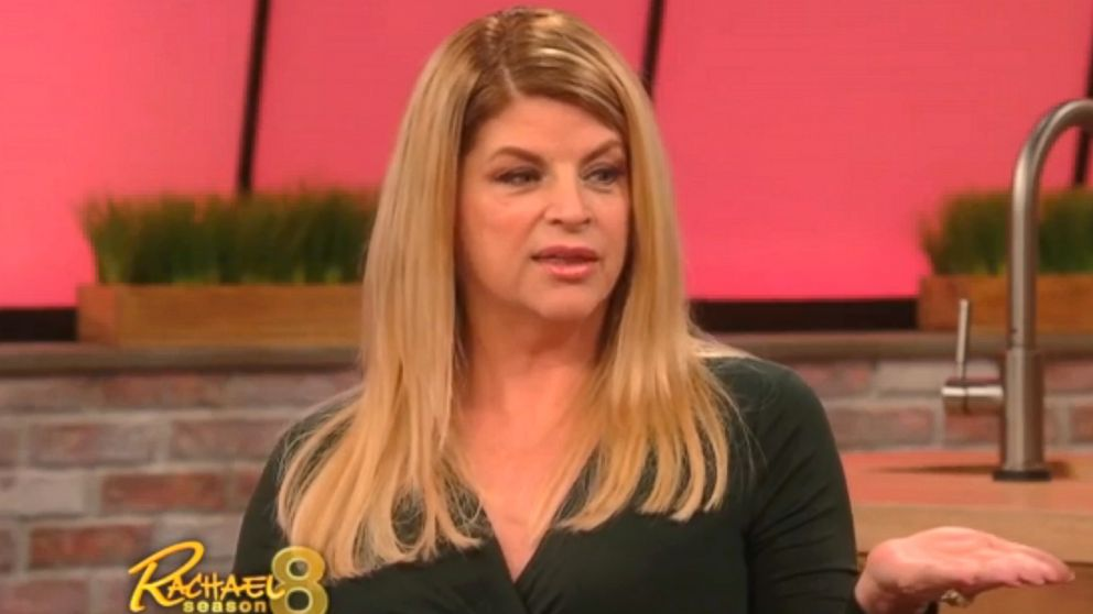 PHOTO: Kirstie Alley defends herself to Racheal Ray.