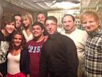PHOTO: Ralphs Italian Restaurant in Philadelphia, Pa posted this image of Taylor Swift after her show, July 20, 2013, along with opening acts Ed Sheeran and Austin Mahone and the late night Ralphs staff.