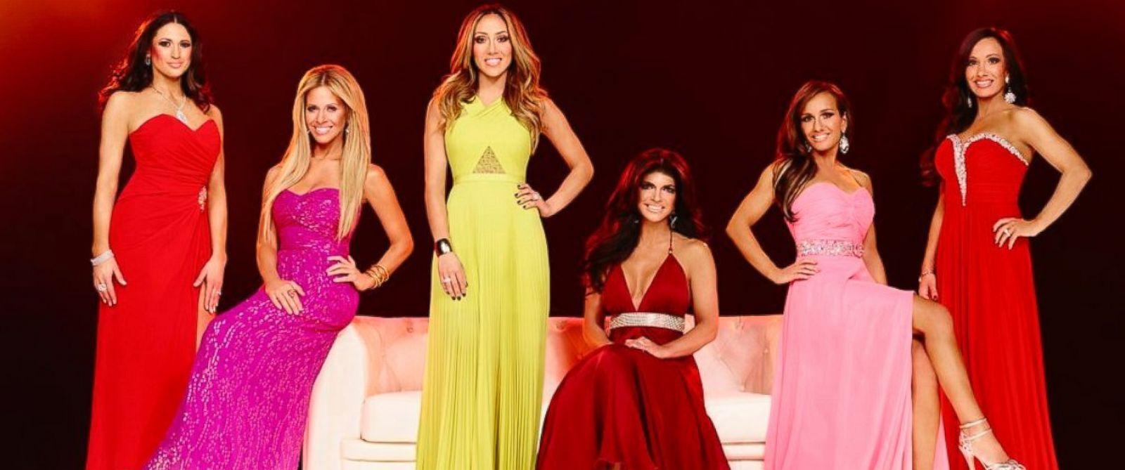 PHOTO: Amber Marchese, Dina Manzo, Melissa Gorga, Teresa Guidice, Nicole Mauriello, Teresa Aprea.