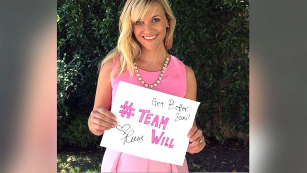 HT reese witherspoon sk 140827 v16x9 16x9 608 See Reese Witherspoons Inspiring Message to Boy With Cancer