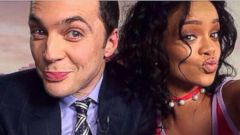 Rihanna Snaps a Selfie with Jim Parsons