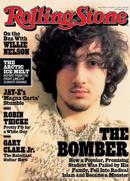 HT rolling stone cover Dzhokhar Tsarnaev large thg 130717 5x7 608 Rolling Stone August Bomber Issue a Hit