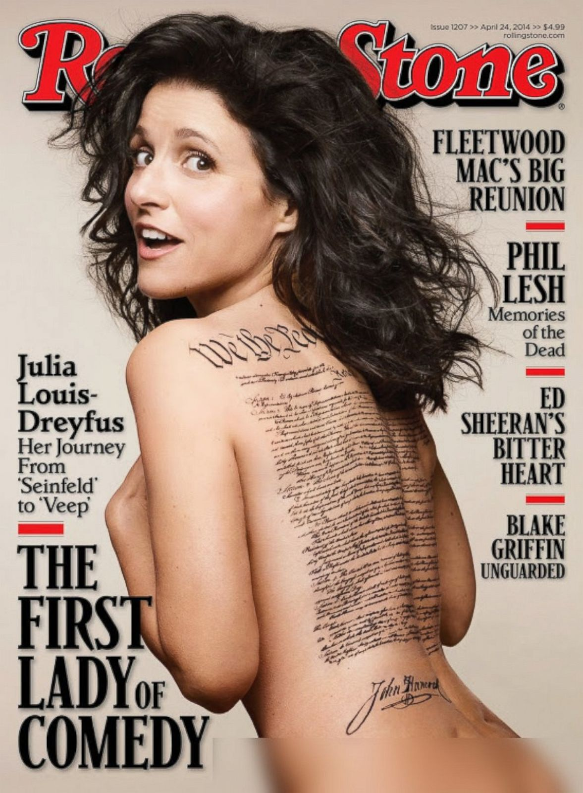 Julia louis dreyfus sexiest picture porn streaming