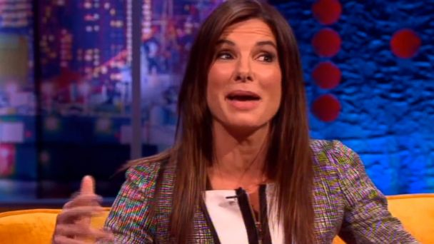 HT sandra bullock rapping jtm 131015 16x9 608 Watch Sandra Bullock Rap to Sugarhill Gangs Rappers Delight