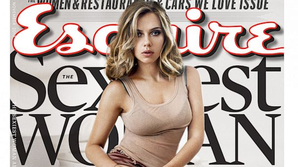 HT scarlett johansson cover nt 131007 16x9 608 Scarlett Johansson Named Esquires Sexiest Woman Alive, Again