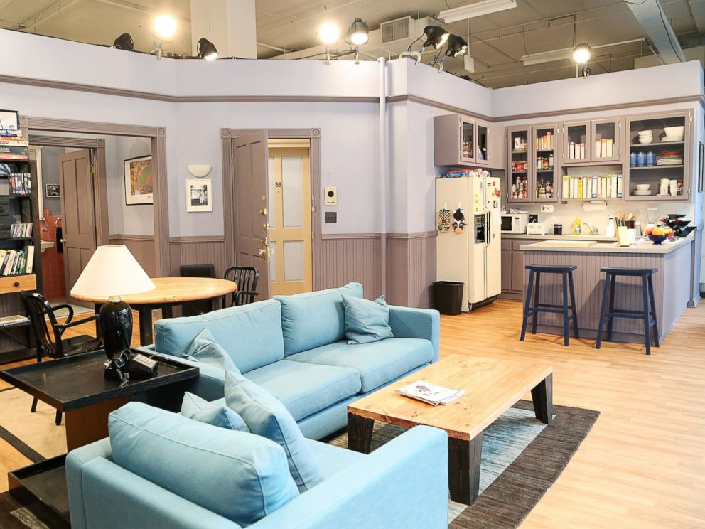 Seinfeld's Famous Apartment Recreated in NYC - ABC News