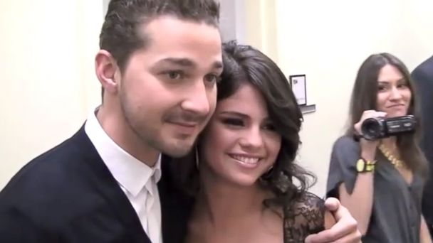 PHOTO: Selena Gomez meets Shia LaBeouf.
