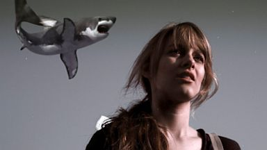 PHOTO: Aubrey Peeples as Claudia  in Sharknado.