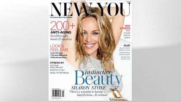 HT sharon stone new you magazine cover thg 130729 v4x3 16x9 608 Sharon Stone on Plastic Surgery: Imperfections Are Sensual