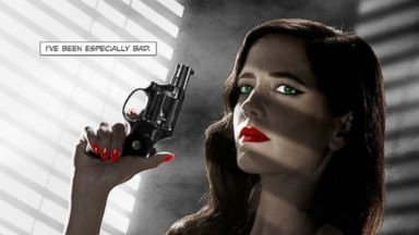 "PHOTO: The ""Sin City 2"" poster featuring Eva Green is being reworked to comply with the Motion Picture Association of America, according to EW."