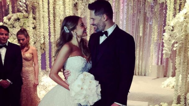 PHOTO: Sofia Vergara posted a photo with husband Joe Manganiello to Instagram on Nov. 22, 2015.