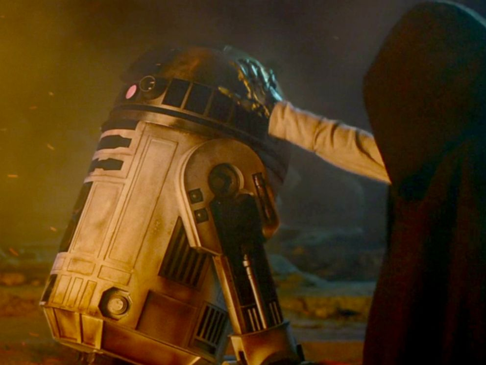 PHOTO: Scene from the new Star wars:The Force Awakens trailer released during Star Wars Celebration Anaheim, April 16, 2015.