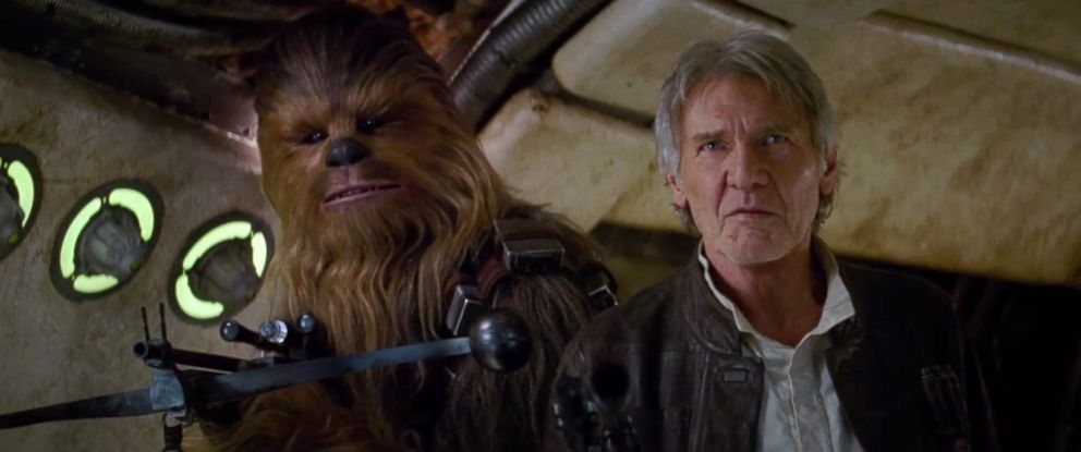 """PHOTO: Scene from the new """"Star Wars: The Force Awakens"""" trailer released during """"Star Wars"""" Celebration in Anaheim, Calif., April 16, 2015."""