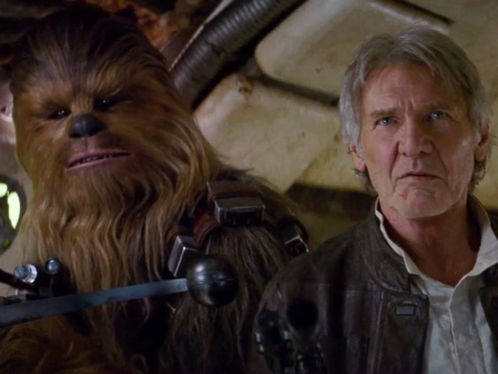 PHOTO: Scene from the new Star Wars: The Force Awakens trailer released during Star Wars Celebration in Anaheim, Calif., April 16, 2015.