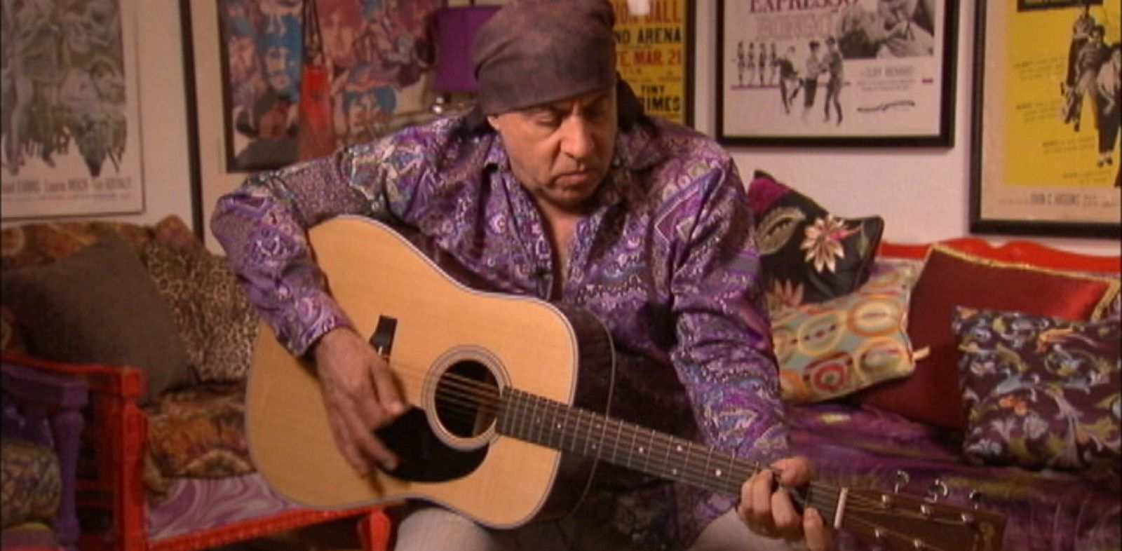 "PHOTO: Steven Van Zandt performs the 1985 song ""Sun City"" which raised awareness about apartheid in South Africa"