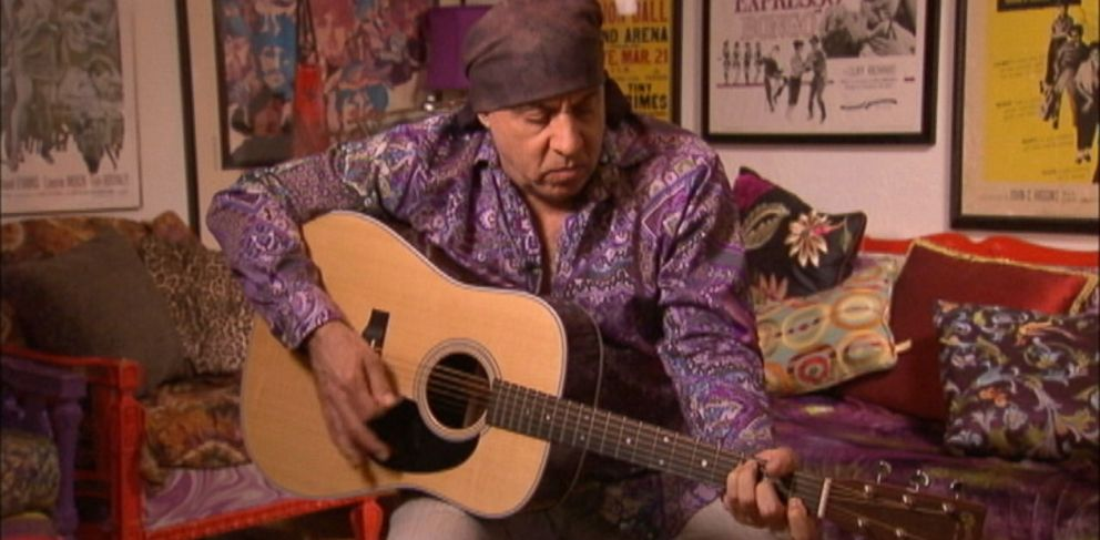 """PHOTO: Steven Van Zandt performs the 1985 song """"Sun City"""" which raised awareness about apartheid in South Africa"""
