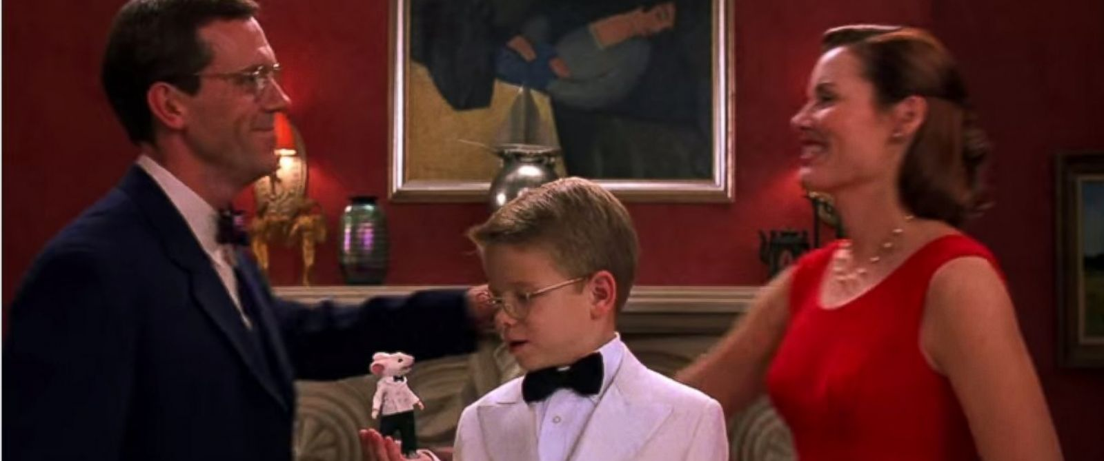 "A long-missing Robert Bereny painting, ""Sleeping Lady with Black Vase,"" was seen in the 1999 childrens movie ""Stuart Little."""