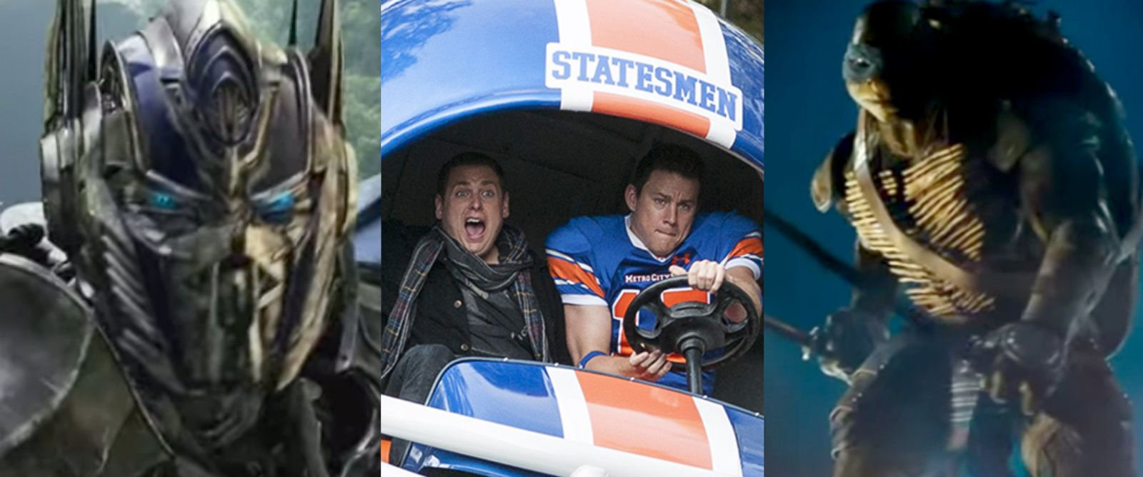 PHOTO: Summer Movie Reviews - Transformers 4, 22 Jump Street, TMNT