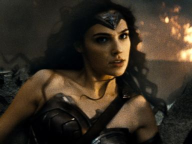 PHOTO:Gal Gadot is seen as Wonder Woman in the action adventure Batman v Superman: Dawn of Justice.
