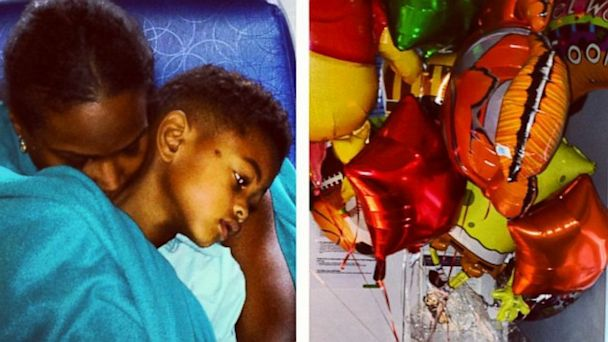 HT tameka raymond tk 130809 16x9 608 Ushers Ex Wife Posts Photo of Son, Usher Raymond V, Recovering After Pool Accident