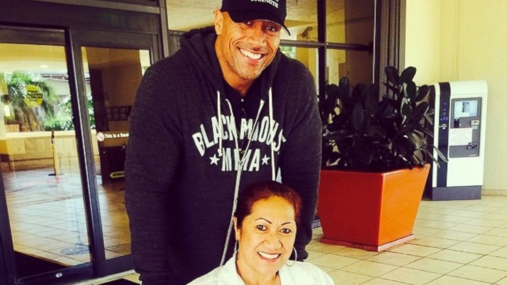 PHOTO: Dwayne Johnson posted this photo to Instagram on Aug.12, 2014.