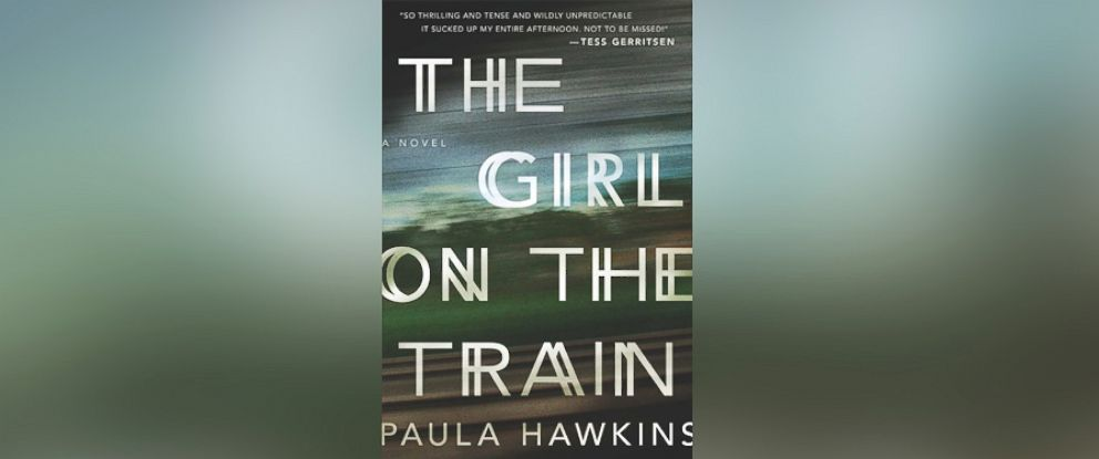 "PHOTO: The book ""The Girl on the Train"" written by Paula Hawkins is seen here."