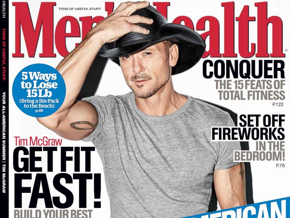 PHOTO: Tim McGraw for Mens Health