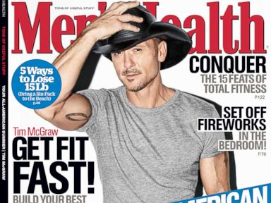 PHOTO: Tim McGraw for Mens Health