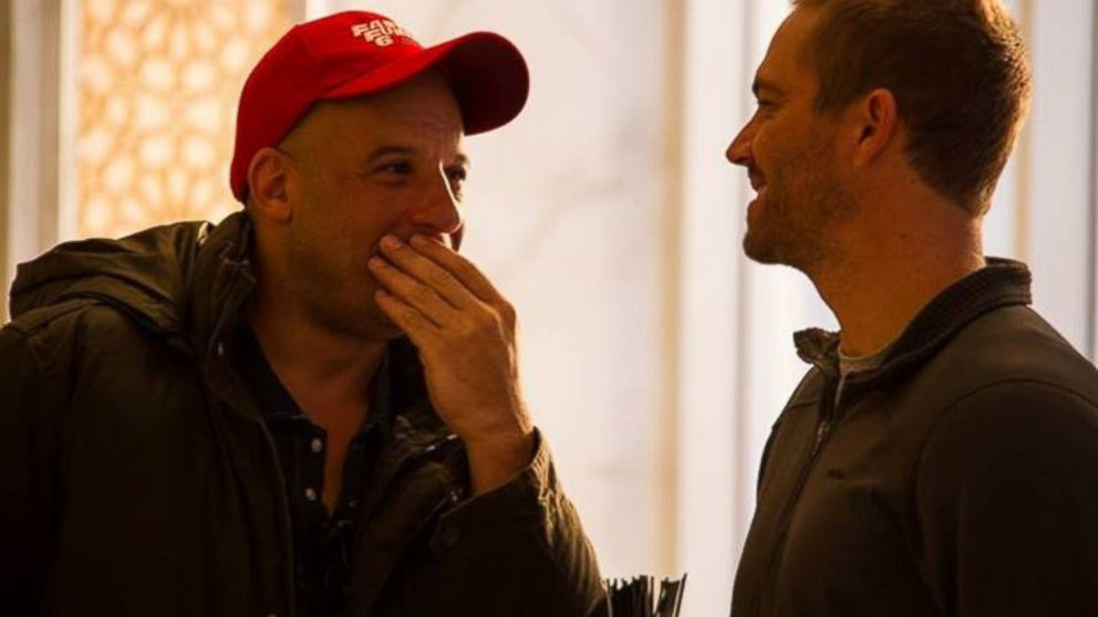 PHOTO: Vin Diesel posted this picture of himself and the late Paul Walker to Facebook, Dec. 2, 2013.