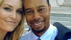PHOTO: Lindsay Vonn shared this picture of her and boyfriend Tiger Woods on her Facebook page, June 24, 2014, while in Washington supporting the Tiger Woods Foundation.